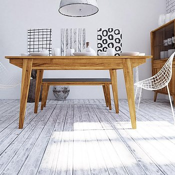 RETRO utvidbart spisebord