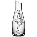 Kosta Boda All About You Him Decanter