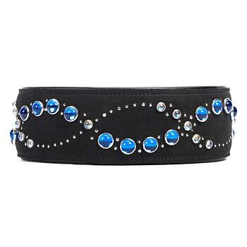 Halsband (Blå bling)