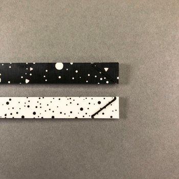A6 Postcard  Print Hanger Frame, black / white lunar storm