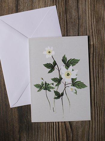 Vikta kort med kuvert A6