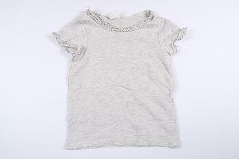 Grå kortärmad tröja från H&M i storlek 80