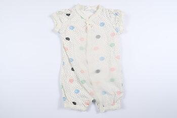 Prickig kortärmad pyjamas från H&M i storlek 56