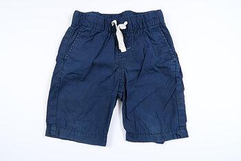 Marinblåa shorts från H&M i storlek 98