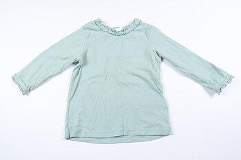 Mintgrön långärmad tröja från H&M i storlek 74