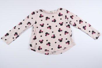 Rosa långärmad tröja med Mimmi från H&M i storlek 74