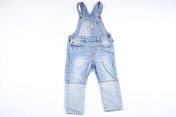 Snickarbyxor i jeans från Zara i storlek 86