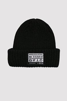 MINIKID - Hat ribbed black