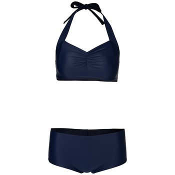Navy Simple Low Hipster Bottoms