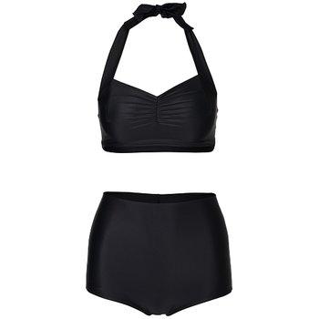Black high bikini bottoms