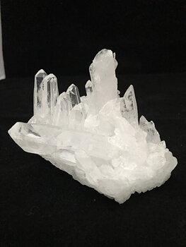 Bergskristall Kluster