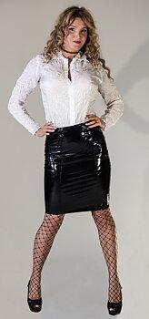 Pvc penn skirt