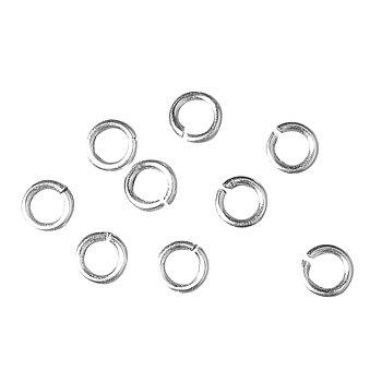 Silver, Jump ring, 40st, ø 10mm, Rayher