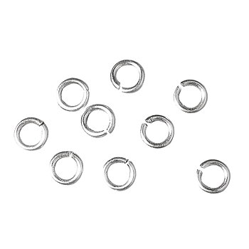 Silver, Jump ring, 30st, ø 7mm, Rayher