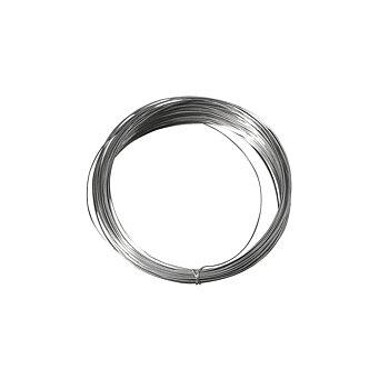 Silverpläterad koppar - metalltråd ,  ø 1 mm,  4 m, Rayher