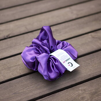 MEGA Scrunchie Dark Purple