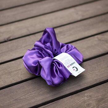 MEGA Scrunchie Dark Purple