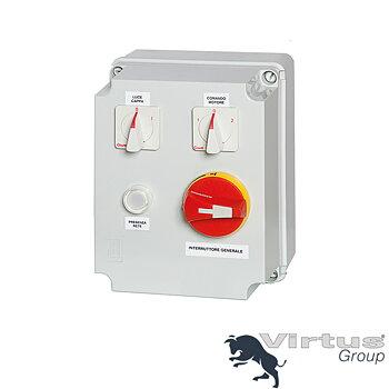 Transformator, gasventil, 2 hastigheter, 400 V, max 2,20kW