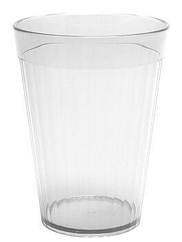 Räfflat glas 15 cl