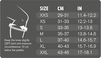 Knäskydd Rehband - 7mm
