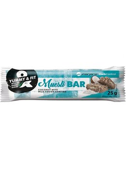 Musli Bar - Kokos med mjölchoklad överdrag