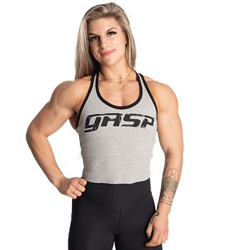 GASP- Rib Crop T-Back