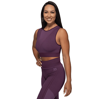 Roxy Seamless Top- Royal Purple