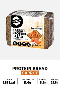 Protein Bröd - Morot