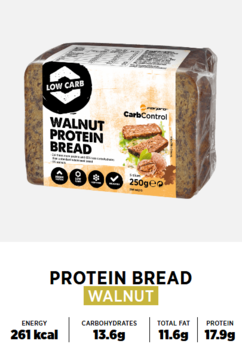 Protein Bröd - Walnut