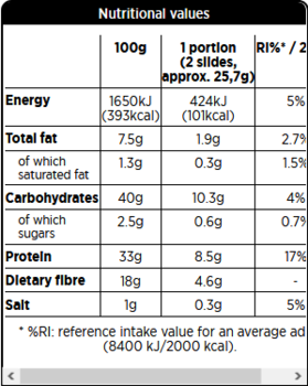 Protein Crisp Bread - Flera smaker