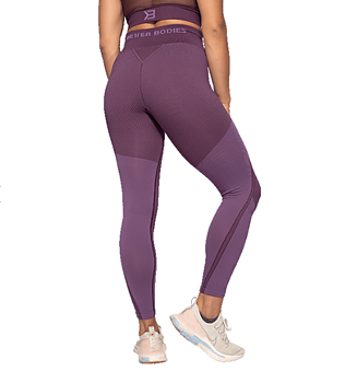 Roxy Seamless Leggings- Royal Purple