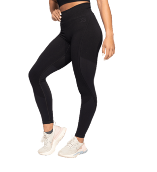 Roxy Seamless Leggings- Black/Dark Navy