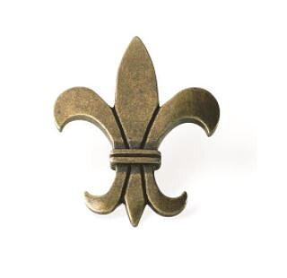 Knopp, Fransk lilja, gammal antik