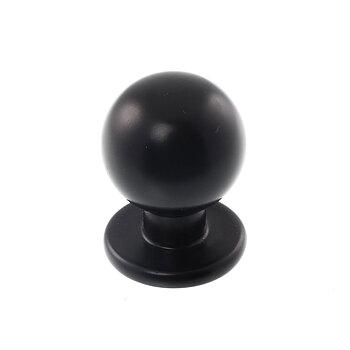 Knopp Kattvik (matt svart)