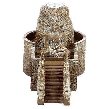 Thai Buddha Tempel Backflow Rökelsebrännare