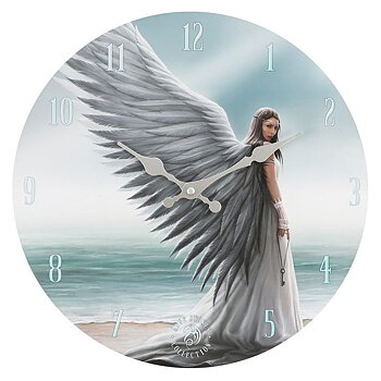Väggklocka Ängel - Anne Stokes