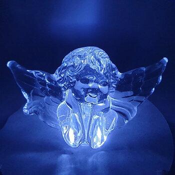 Ängel i kristall