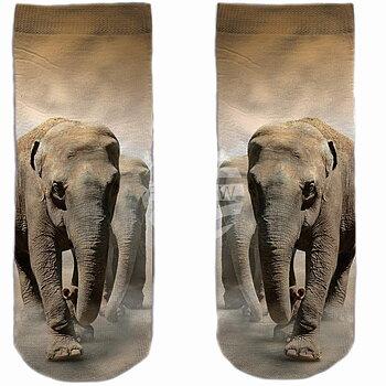 Elefant - Motivstrumpor