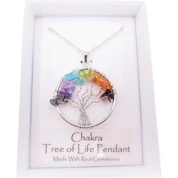 Halslänk - Tree of life - Chakra