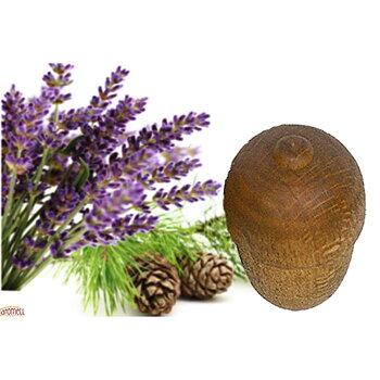 Doftboll i trä - Ceder och Lavendel