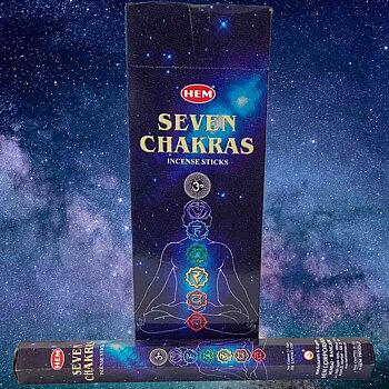 Seven Chakras Rökelse HEM