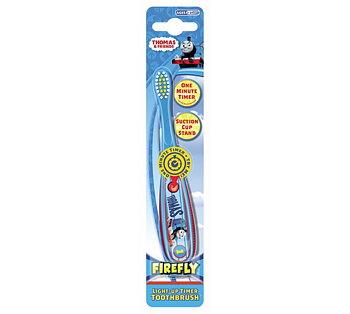 Thomas Firefly tannbørste med timer og sugekopp