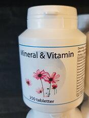 Mineral & Vitamin 250 tabletter