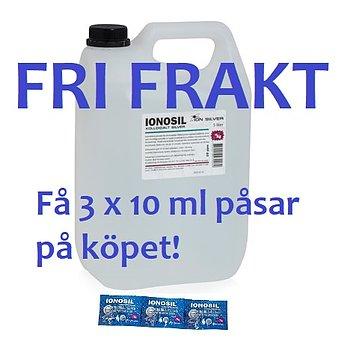 Ionosil Kolloidalt silver - Vattenrening 5L- FRI FRAKT