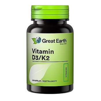 Great Earth Vitamin D3/K2