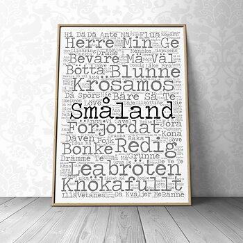 Småland 40x50