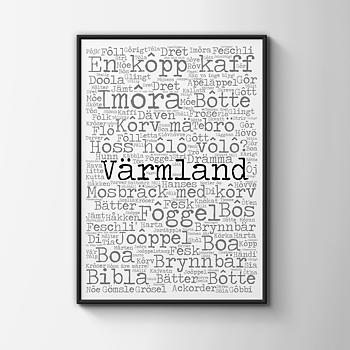Värmland 30x40