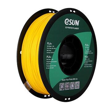 eSun PLA+ Filament (1.75mm, 1Kg) — Gul