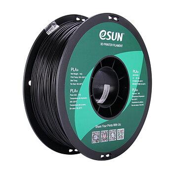 eSun PLA+ Filament (1.75mm, 1Kg) — Svart