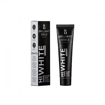 Brilliant Smile HiWhite Charcoal Black Mint tannkrem, 3-Pack
